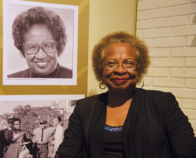 Marilyn Luper Hildreth, daughter of Clara Luper, fights to continue her mother's civil rights legacy. - MEG CHERIE