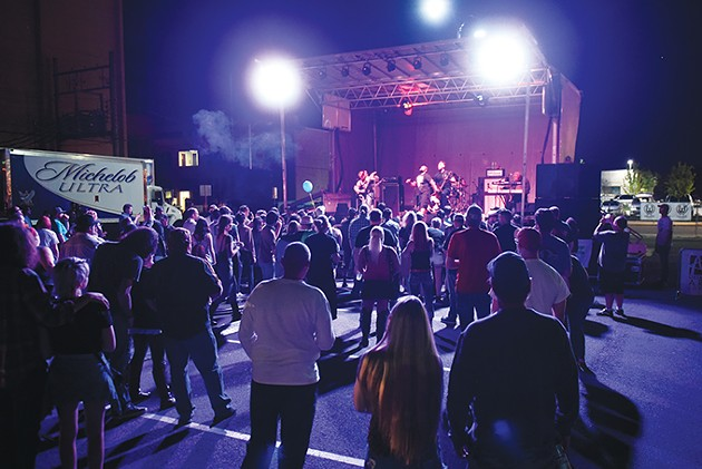 The annual Norman Music Festival is one of the state's largest youth and music culture gatherings, but the city is fighting to keep its graduates from moving elsewhere in the metropolitan area. - GAZETTE / FILE