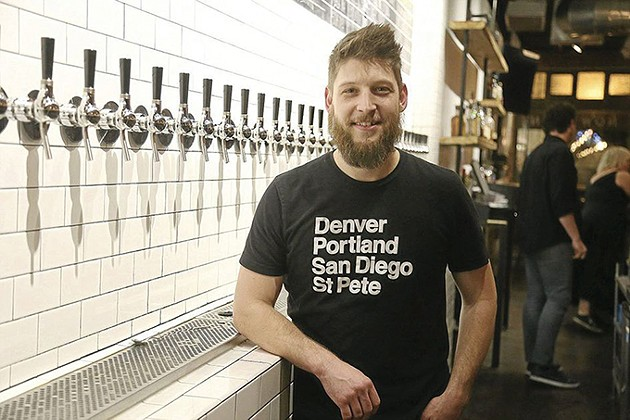 Micah Andrews is owner of Oak & Ore and an organizer of Oklahoma Craft Beer Summit. - PROVIDED