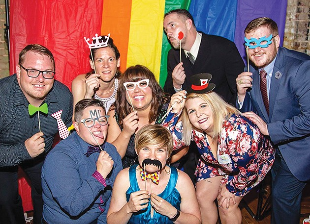 The board of Norman Pride includes president Andrew Coulter (upper right corner). - PROVIDED