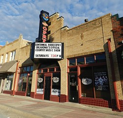 The Rodeo Opry building is now home to the nonprofit independent Rodeo Cinema theater. - PROVIDED