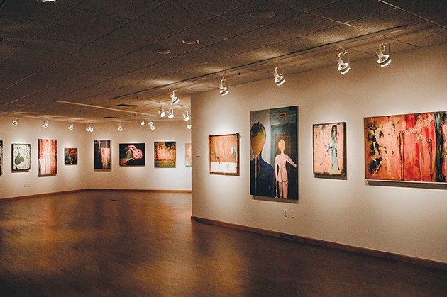 Alexis Austin's Welcome to the Traffic Jam is on display at Oklahoma City Community College through Oct. 31. - ALEXA ACE