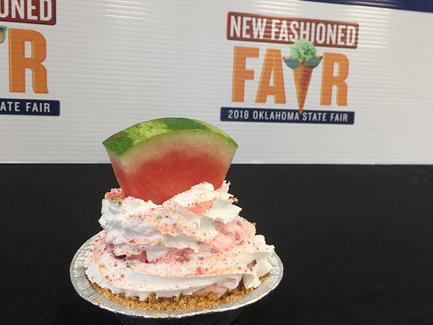 The watermelon pie from Cutie Pies Concession was the overall winner of the Great TASTE of a Fair competition. - JACOB THREADGILL