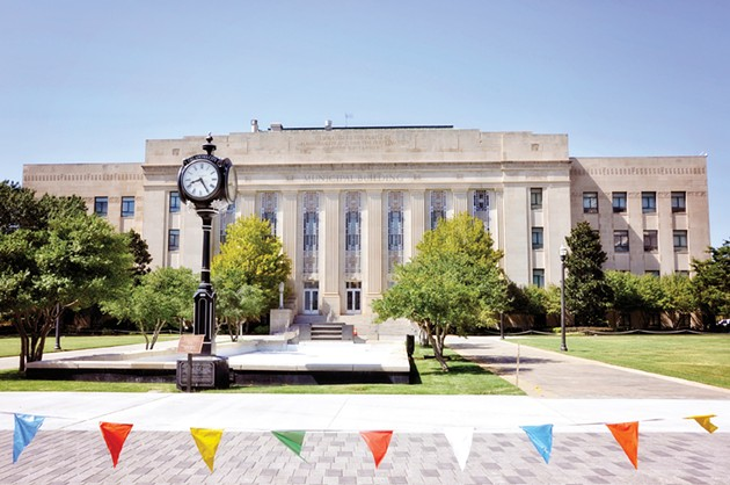Oklahoma City municipal building - KRISTI ELLIS / WIKIPEDIA COMMONS