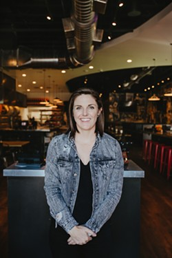 Rachel Cope, founder and CEO of 84 Hospitality Group, wanted to maintain the style and ambiance of the original Empire Slice House for the new location. - ALEXA ACE