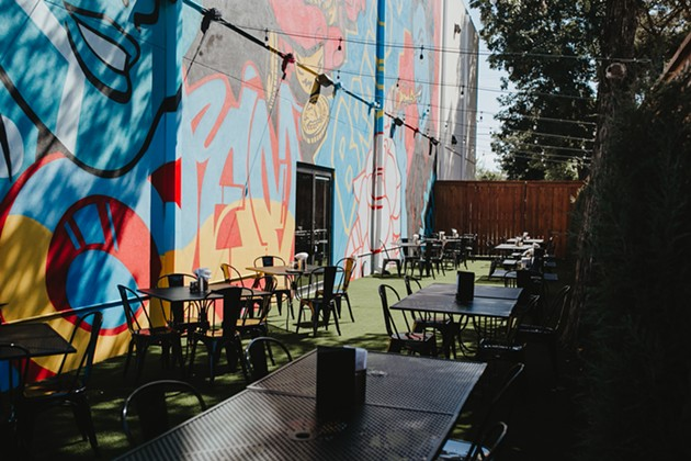 The new Empire Slice House at 1804 NW 16th St. features expanded seating outdoors. - ALEXA ACE
