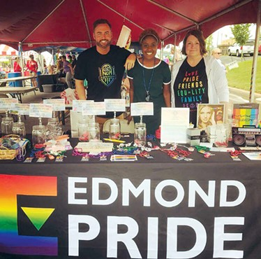 Edmond Pride features activities, performances and vendors in an accessible environment. - UCO LGBTQIA+ FACULTY STAFF  ASSOCIATION / PROVIDED