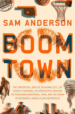Sam Anderson published Boom Town in August. - JEFF BARK / PROVIDED