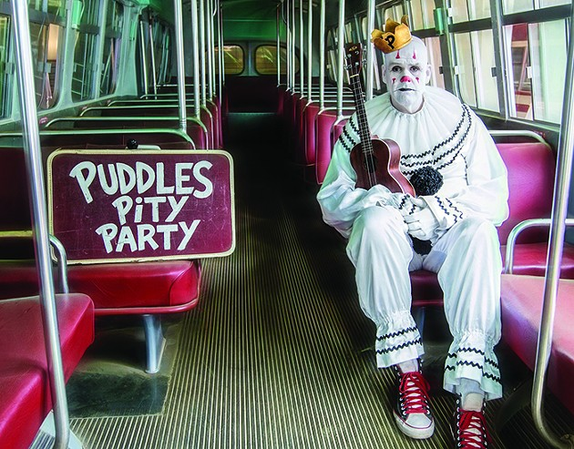 Puddles Pity Party performs pop like Pagliacci. - EMILY BUTLER