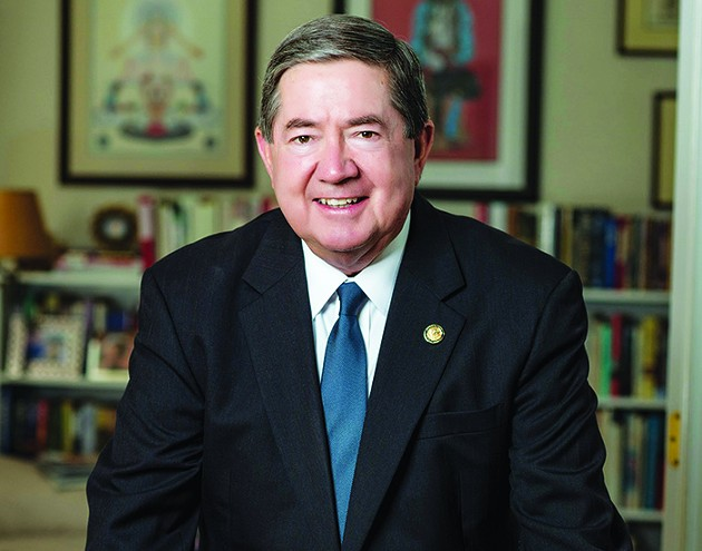 Democrat Drew Edmondson is running for governor. - PROVIDED