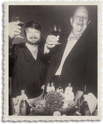 John Bennett left was recommended to The Cellar and Hightower owner Frank Hightower by his Bennett's mentor, master chef James Beard. - PROVIDED