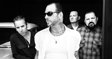 Mike Ness center has led Social Distortion for 40 years. - PROVIDED