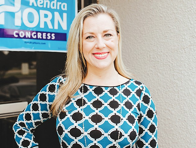 Kendra Horn is running to represent Oklahoma's 5th district in the U.S. House of Representatives. - ALEXA ACE