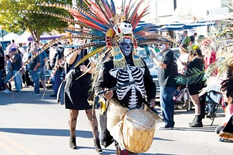 Now in its fifth year, 16th Street Plaza District's annual Day of the Dead festival celebrates the annual Latinx honoring of ancestors. - 16TH STREET PLAZA DISTRICT / PROVIDED
