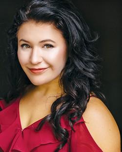 Katja Yanko plays Rose Fenny in Dogfight. - PROVIDED
