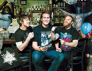from left Marcus Parks, Ben Kissel and Henry Zebrowski bring their podcast Last Podcast on the Left to OKC Nov. 9. - LAST PODCAST ON THE LEFT / PROVIDED