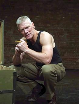 Stephen Lang portrays eight Medal of Honor recipients in Beyond Glory 2 p.m. Sunday at Oklahoma City Community College's Visual and Performing Arts Center Theater. - PROVIDED
