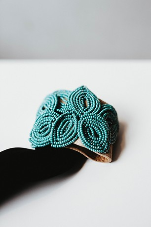 A beaded bracelet by Erin Merryweather - ALEXA ACE