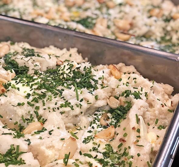 Garlic confit potatoes by Melissa Aust - PROVIDED