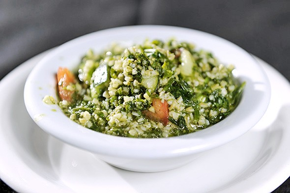 Tabbouleh is included with every dinner entree at Jamil's. - GAZETTE / FILE