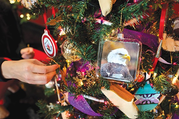 Red Earth Treefest showcases tribal culture through individual Christmas trees. - PROVIDED