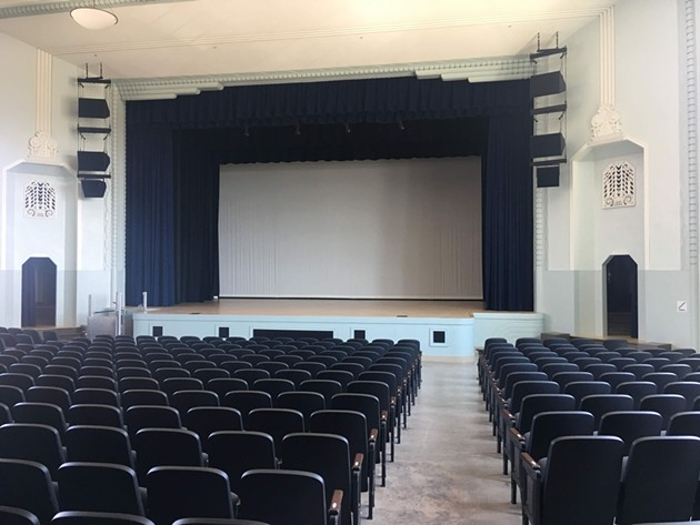 The Auditorium at The Douglass served Frederick Douglass High School and was recently renovated as part of the Page Woodson restoration. - THE SOCIAL ORDER / PROVIDED