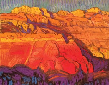 """""""Chana Cliffs"""" by Brad Price - THE DEPOT GALLERY / PROVIDED"""