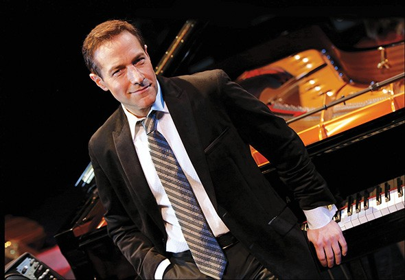 Jim Brickman plays at OCCC's Visual and Performing Arts Center Theater Dec. 11. - JEFF KLAUM / PROVIDED