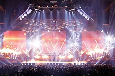 Trans-Siberian Orchestra found success through visual and musical spectacle. - MARK WEISS / PROVIDED