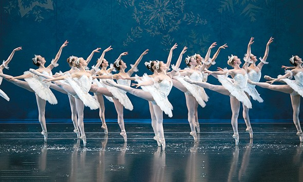 The Snowflakes dance in The Nutcracker. - JANA CARSON / PROVIDED
