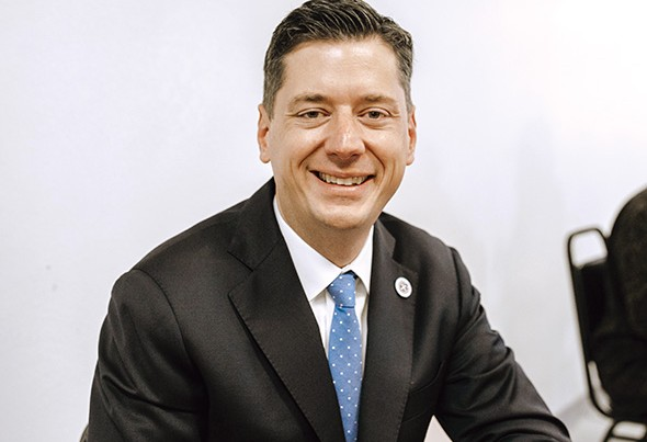Oklahoma City mayor David Holt will give his first State of the City address Jan. 17. - ALEXA ACE