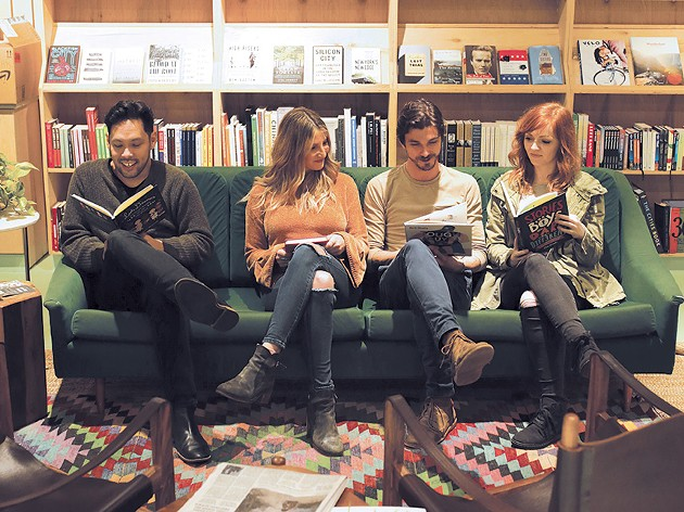 Jose Hernandez, Chelsey Cope, Chase Kerby and Kinsey Charles perform at a book drive at Commonplace Books 6 p.m. Saturday. - ALEXA ACE