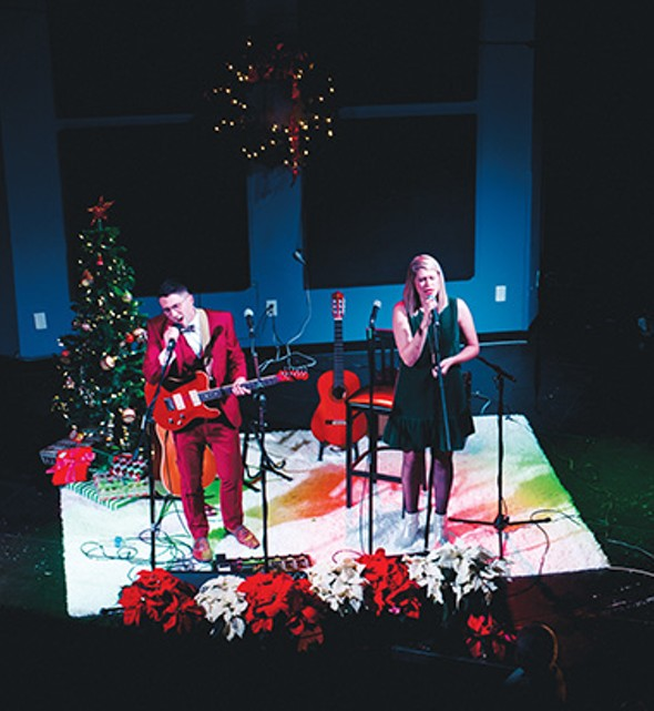 Bryce and Bethany Merritt's Christmas With the Mrs. holiday concerts are scheduled 8 p.m. Thursday and Friday at University of Central Oklahoma's Jazz Lab, 100 E. Fifth St., in Edmond. - PROVIDED