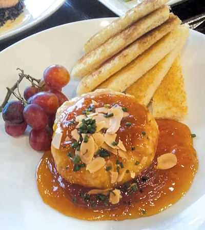 Baked Brie is a new menu item at Bistro Twenty Two in Edmond. - PROVIDED