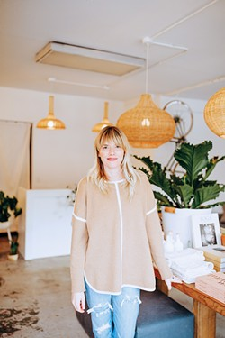 Chelsey Cobbs, a former Bobbi Brown makeup artist, opened Salt & Water Co. to fill a need for a place to purchase clean beauty and self-care products in Oklahoma City. - ALEXA ACE