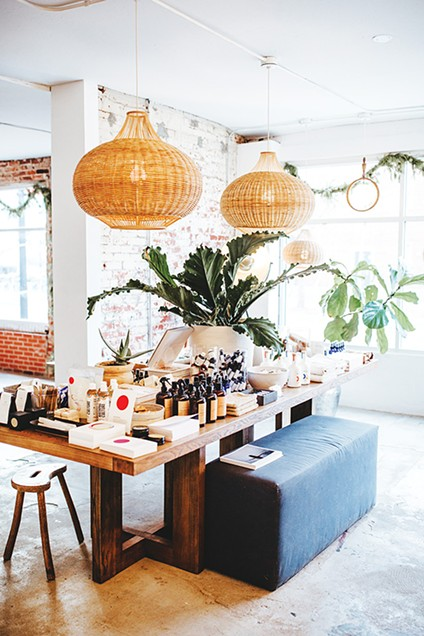 Salt & Water Co. sells a variety of clean - beauty and self-care products. - ALEXA ACE