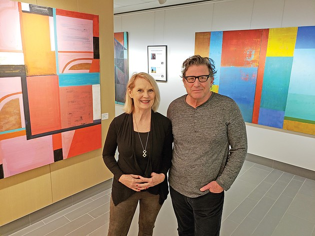 Inspirations from Nature, an exhibition of paintings by Susan Morrison-Dyke and Anthony Dyke, is on display in the visitor center at Myriad Botanical Gardens through Feb. 28. - PROVIDED