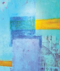 """""""Blue Pond"""" by Anthony Dyke - MYRIAD BOTANICAL GARDENS / PROVIDED"""