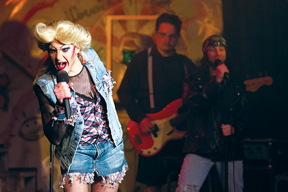 Matthew Alvin Brown tried to retire from Hedwig and the Angry Inch, but she kept pulling him back in. - PROVIDED