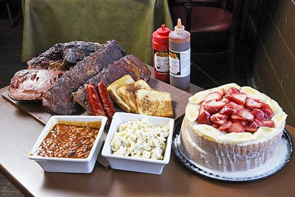Leo's Barbecue was the first Oklahoma City restraurant featured on Diners, Drive-ins and Dives. - GAZETTE / FILE