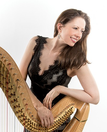 Norman native Yolanda Kondonassis performs Jennifer Higdon's Concerto for Harp and Orchestra with Oklahoma City Philharmonic. - OKLAHOMA CITY PHILHARMONIC / PROVIDED