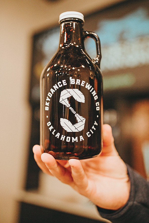 Skydance is only able to sell its beer at the Brewers Union taproom and through the - competitive draft beer market during the federal government shutdown. - ALEXA ACE