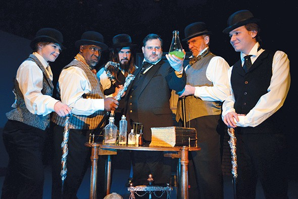 Dr. Jekyll and Mr. Hyde runs Feb. 15-March 9 at Carpenter Square Theatre. - CARPENTER SQUARE THEATRE / PROVIDED