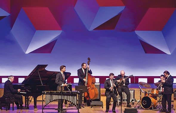 Julian Bliss Septet performs variations of Benny Goodman songs. - PROVIDED