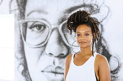 Tatyana Fazlalizadeh's new exhibition, Oklahoma Is Black, runs Friday-May 19 at Oklahoma Contemporary Arts Center. - OKLAHOMA CONTEMPORARY ARTS CENTER / PROVIDED