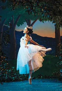 Miki Kawamura makes her final appearance as principal dancer in Oklahoma City Ballet's La Sylphide. She will continue with the company as ballet master. - OKLAHOMA CITY BALLET / PROVIDED