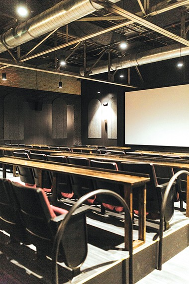 There are two 75-person screening rooms. - ALEXA ACE