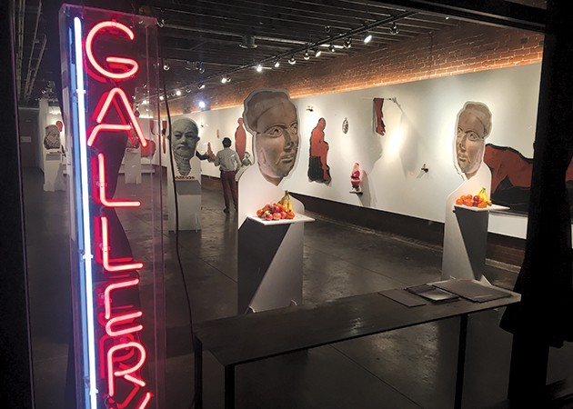 Individual Artists of Okalhoma's current location features an expansive space for exhibits and performances. - INDIVIDUAL ARTISTS OF OKLAHOMA / PROVIDED