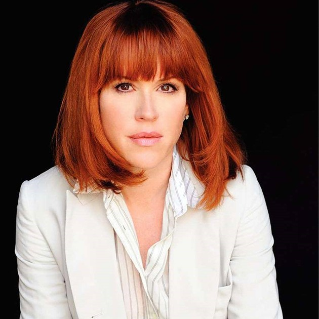 Molly Ringwald discusses her life and career Sunday as part of Junior League of Oklahoma City's Speaker in the City series. - PROVIDED