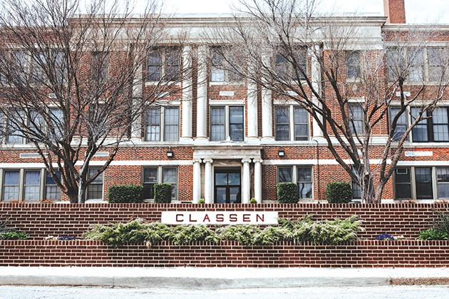 Classen School of Advanced Studies will expand into two campuses; Northeast Academy will house the high school. - ALEXA ACE